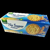 Gullón Kaurakeksi 410g, Ei lisättyä sokeria
