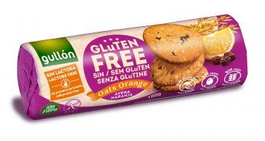Gullón Kaura-appelsiinikeksi Gluten free  180g laktoositon, ei sisällä pähkinää eikä kananmunaa