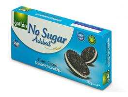 Gullón Sandwich Cookies 210g, Ei lisättyä sokeria