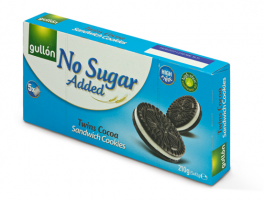 Gullón Sandwich Cookies, No added sugar 210g