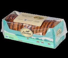 Leivon Amerikanserkku 300g saattaa sisältää pieniä määriä maitoa ja hasselpähkinää