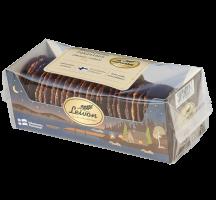 Leivon Kauralastu suklainen 300g saattaa sisältää pieniä määriä maitoa, soijaa, mantelia ja muita pähkinöitä.