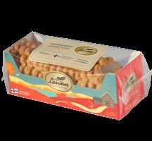 Leivon Talonpoika 300g laktoositon, saattaa sisältää pieniä määriä kananmunaa, soijaa ja muita pähkinöitä.
