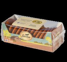 Leivon Torpparinleipä 250g sattaa sisältää pieniä määriä soijaa, mantelia ja muita pähkinöitä.