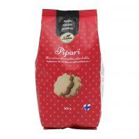 Leivon pipari 500g laktoositon, saattaa sisältää pieniä määriä maitoa, soijaa, mantelia ja muita pähkinöitä.