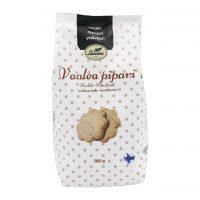 Leivon vaalea pipari 500g laktoositon, saattaa sisältää pieniä määriä maitoa, soijaa, mantelia ja muita pähkinöitä.