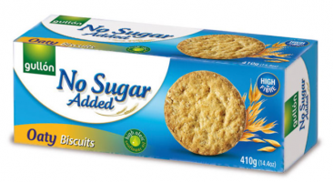 Gullón Kauralastu No added sugar 410g