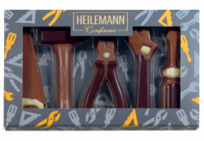 Heilemann Suklaiset figuurit työkalut 100g
